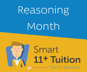 Smart 11+ Tuition Reasoning Month